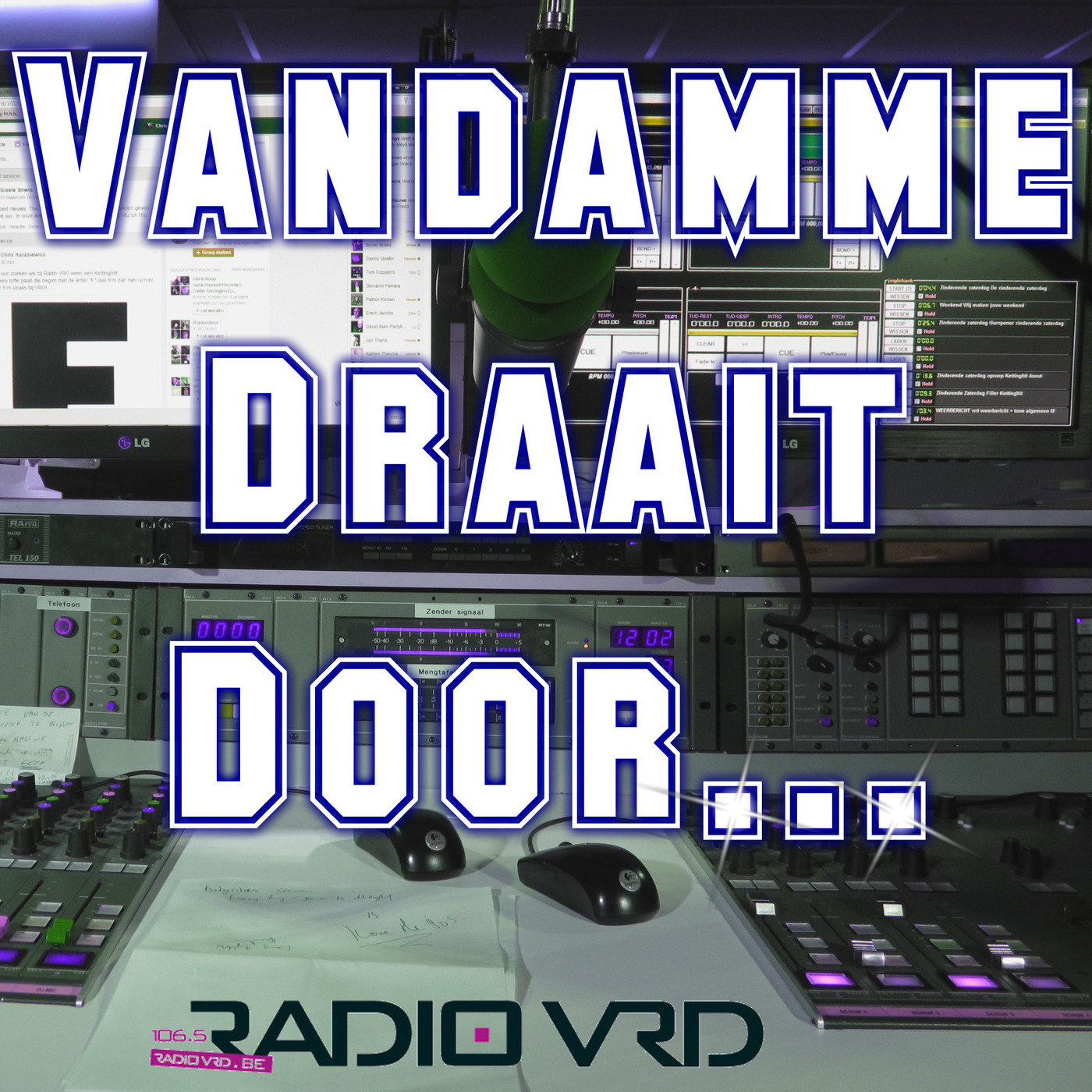 Vandamme Draait Door!