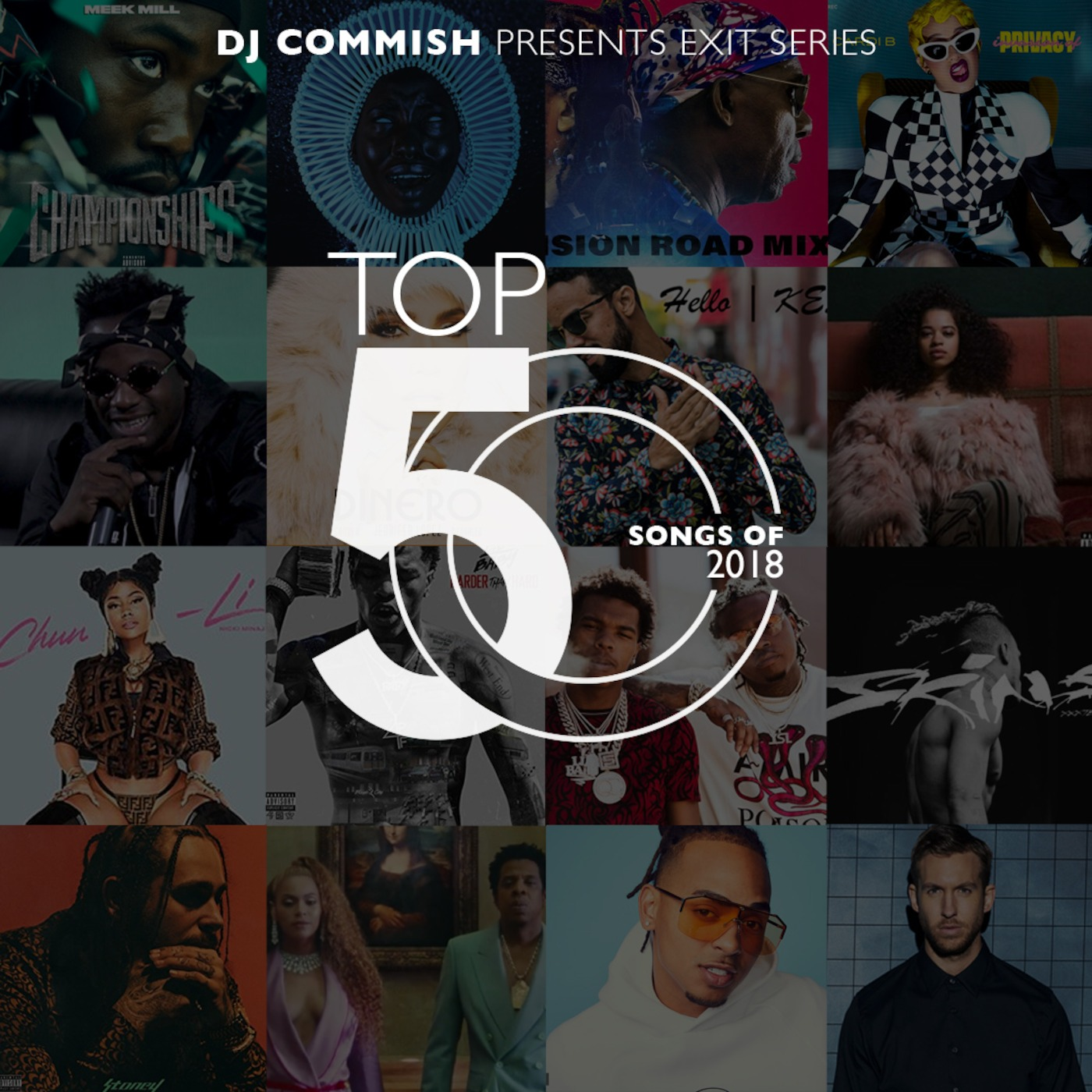 Top 50 Of 2018 Mix The Commish Experience podcast