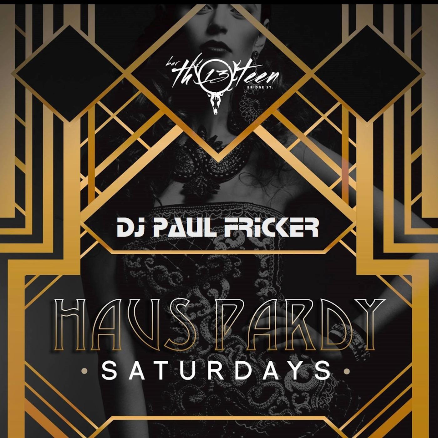 DJ Paul Fricker Bar Thirteen Sets