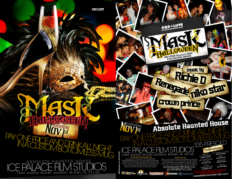 MASK HALLOWEEN WEEKEND PROMO MIX