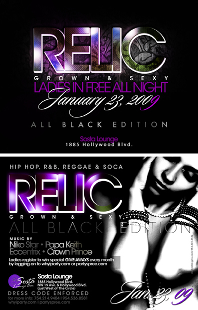 Relic Party Promo Mix