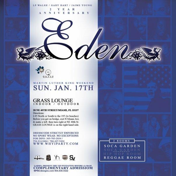 Eden MLK Weekend '10 Promo Mix