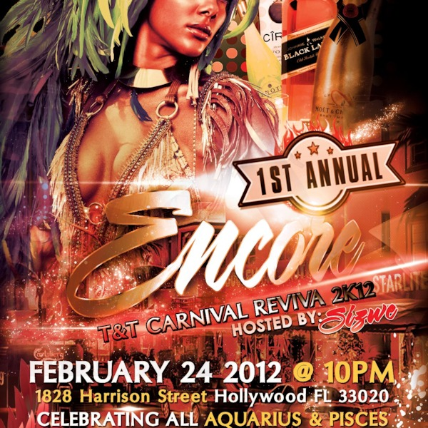 ENCORE (HOLLYWOOD, FL) 24-FEB-2012 *PROMO MIX*
