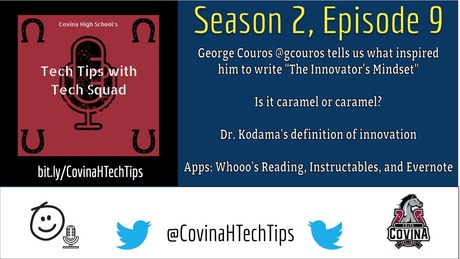 Covina High Tech Tips with Tech Squad | Free Podcasts | Podomatic
