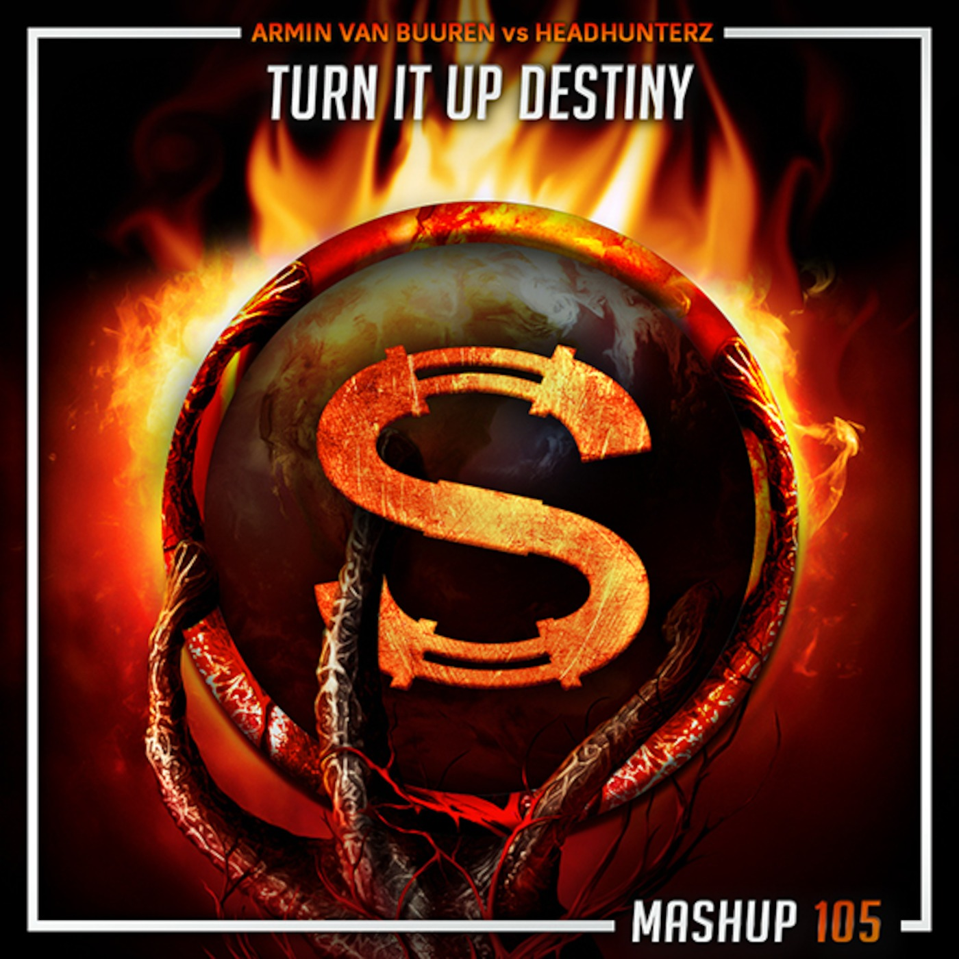 Armin Van Buuren vs Headhunterz - Turn It Up Destiny End (Da Sylva mashup)