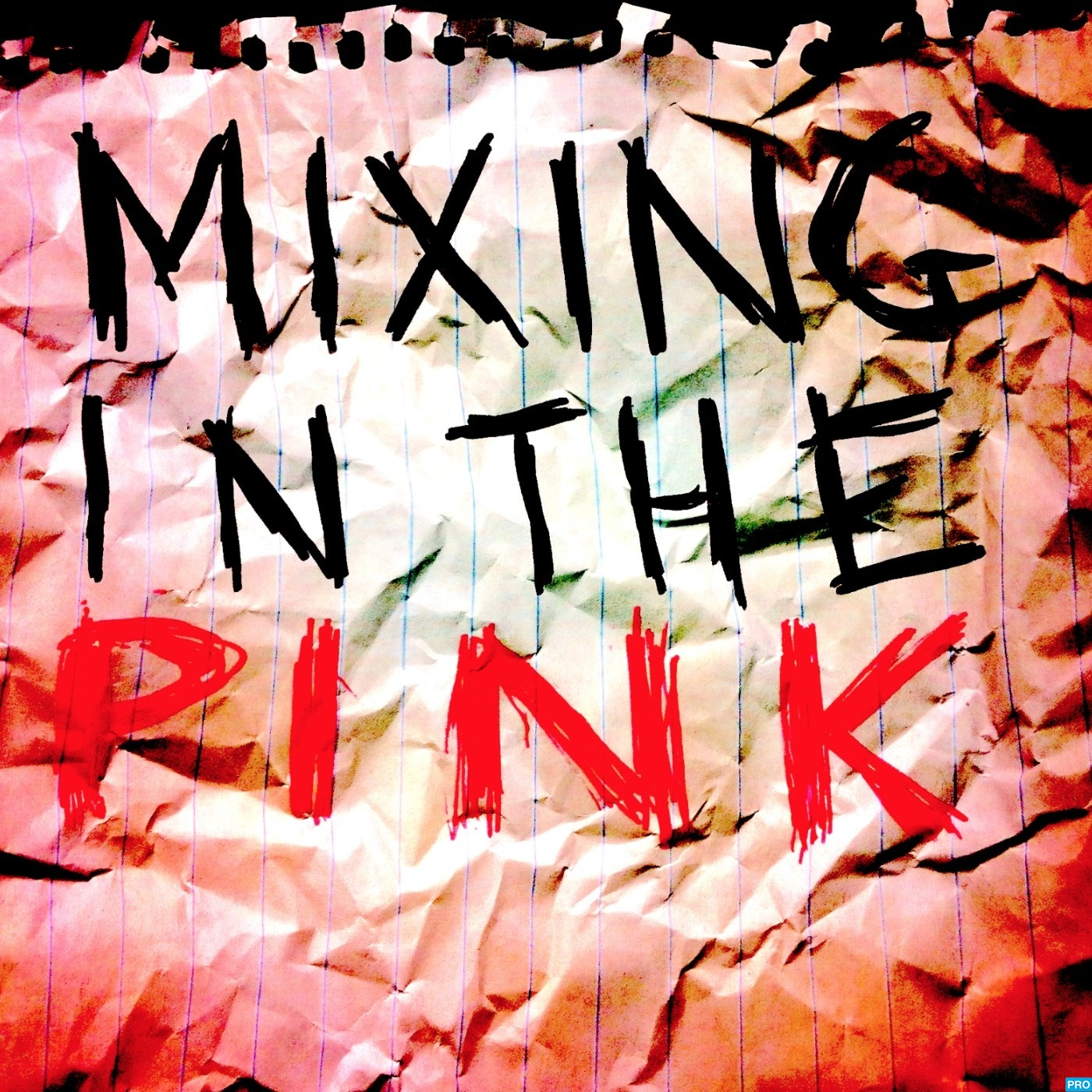 Mixing In The Pink