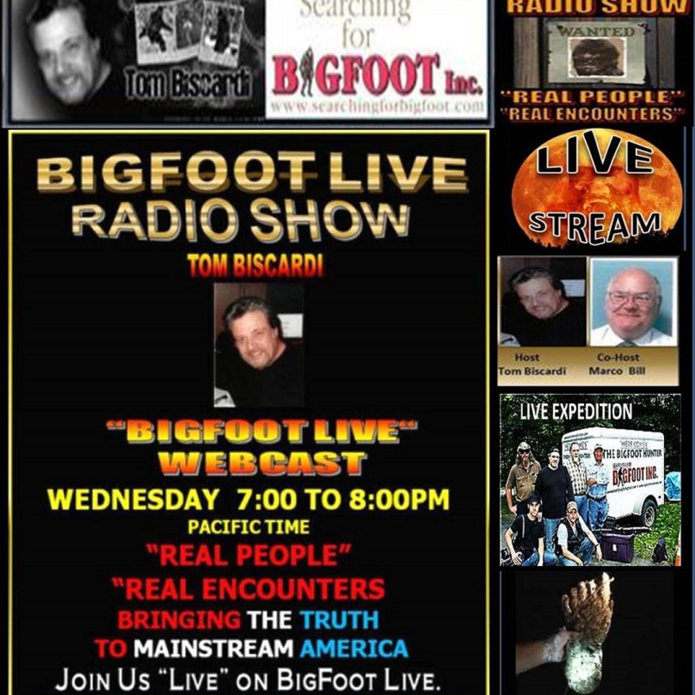 BIGFOOT LIVE RADIO 2016 ARCHIVES