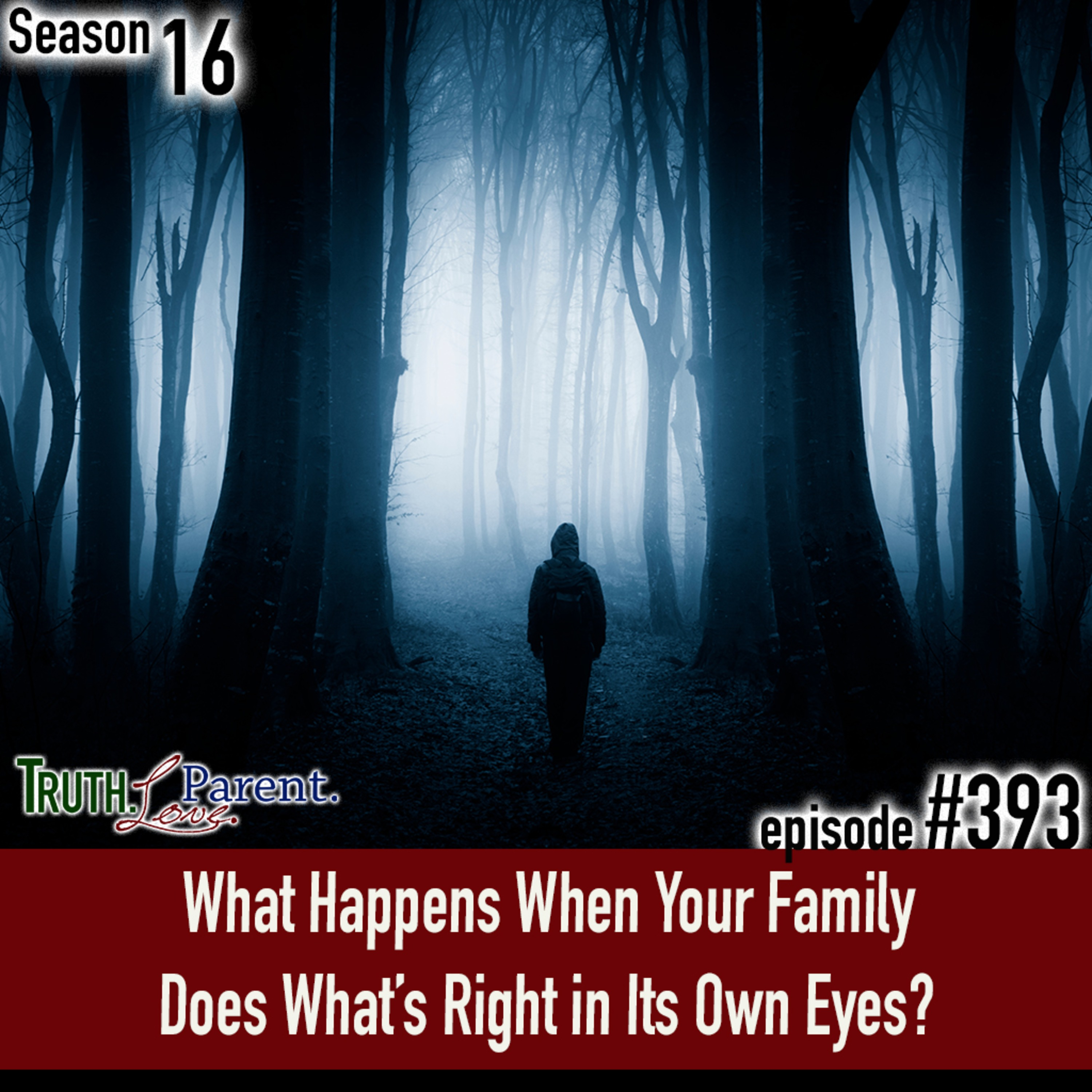 TLP 393: What Happens When Your Family Does What's Right in Its Own Eyes?