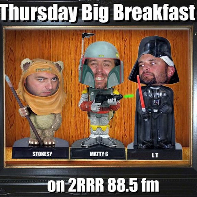 Thursday Big Breakfast 88.5fm - 26th May