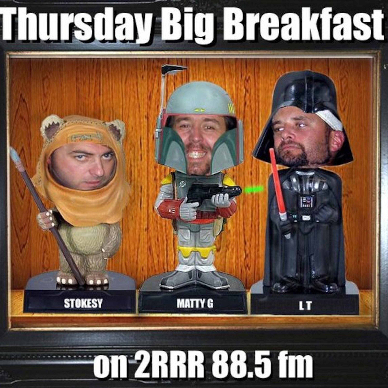 Thursday Big Breakfast 88.5fm - 23rd June