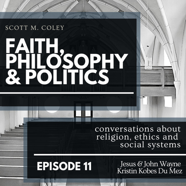 image of logo for scott m. coley faith, philosophy and politics podcast