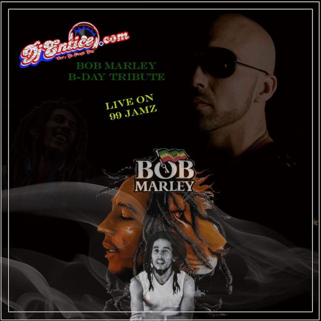 LIVE BOB MARLEY TRIBUTE ON 99 JAMZ