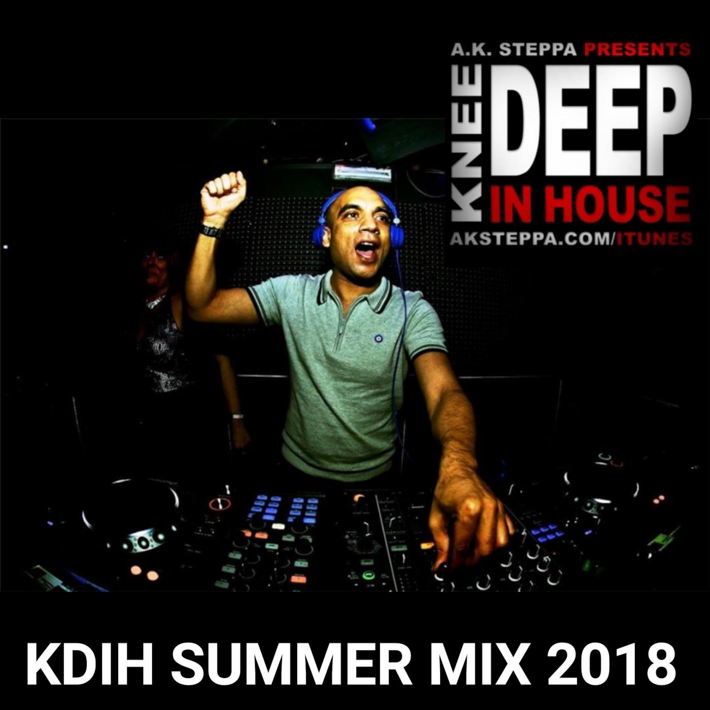 KDIH SUMMER 2018 MIX :: DJ @AKSTEPPA House Music | Deephouse