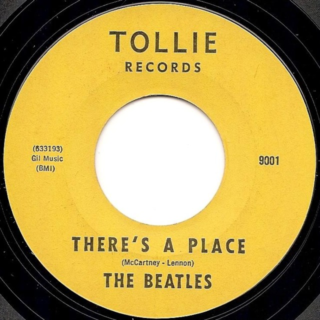 THE BEATLES / THERE'S A PLACE / MONO REMASTER IN STEREO / MIRROR SPOCK MIXES