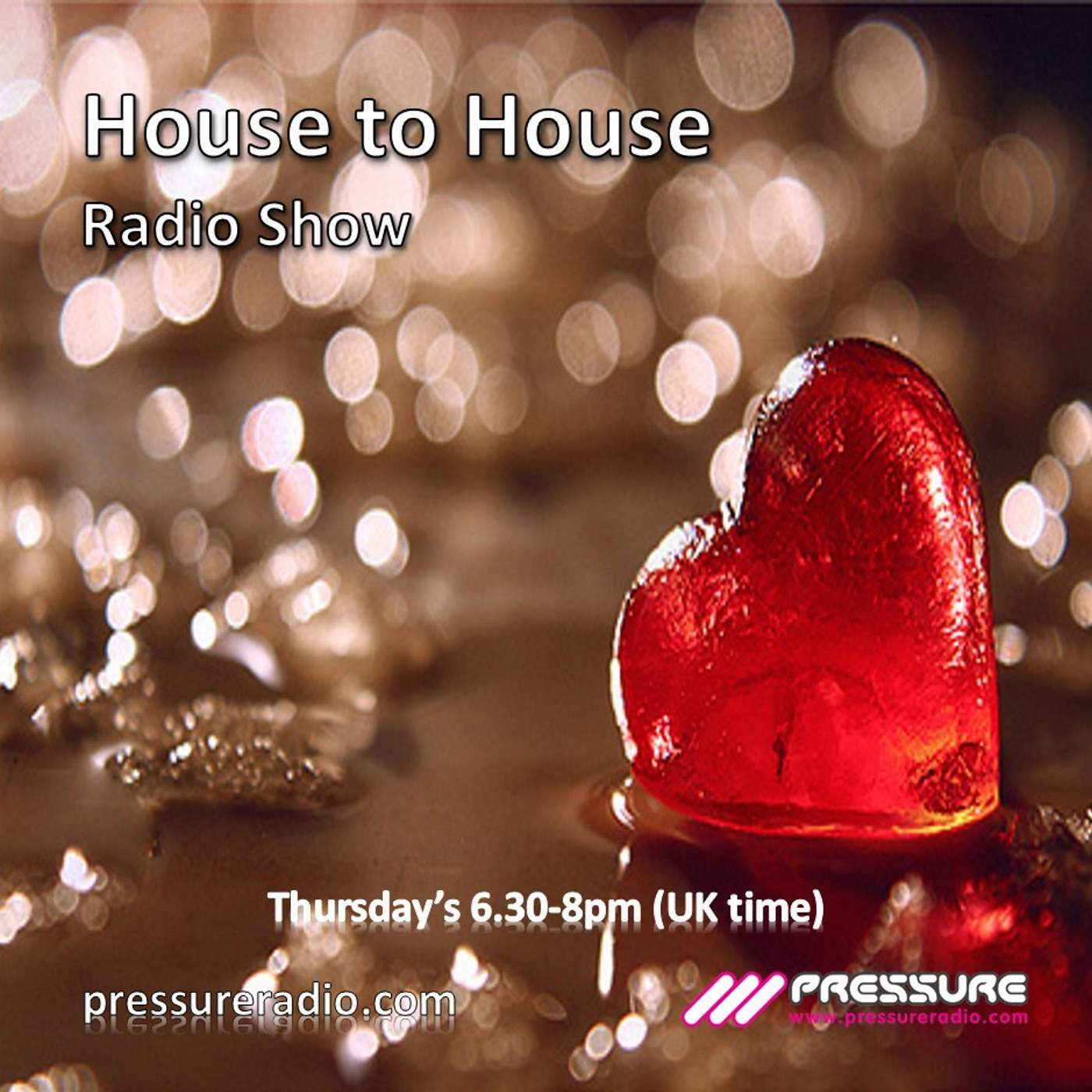 latest deep soulful house podcasts from Pressure Radio djs