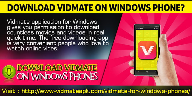 Download Vidmate On Windows Phone