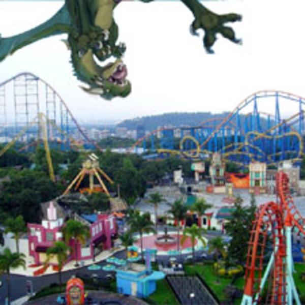 039 - Six Flags Bad Dragon