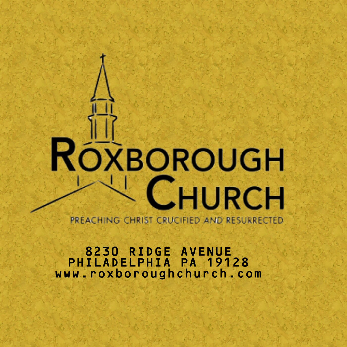 Roxborough Church Podcast