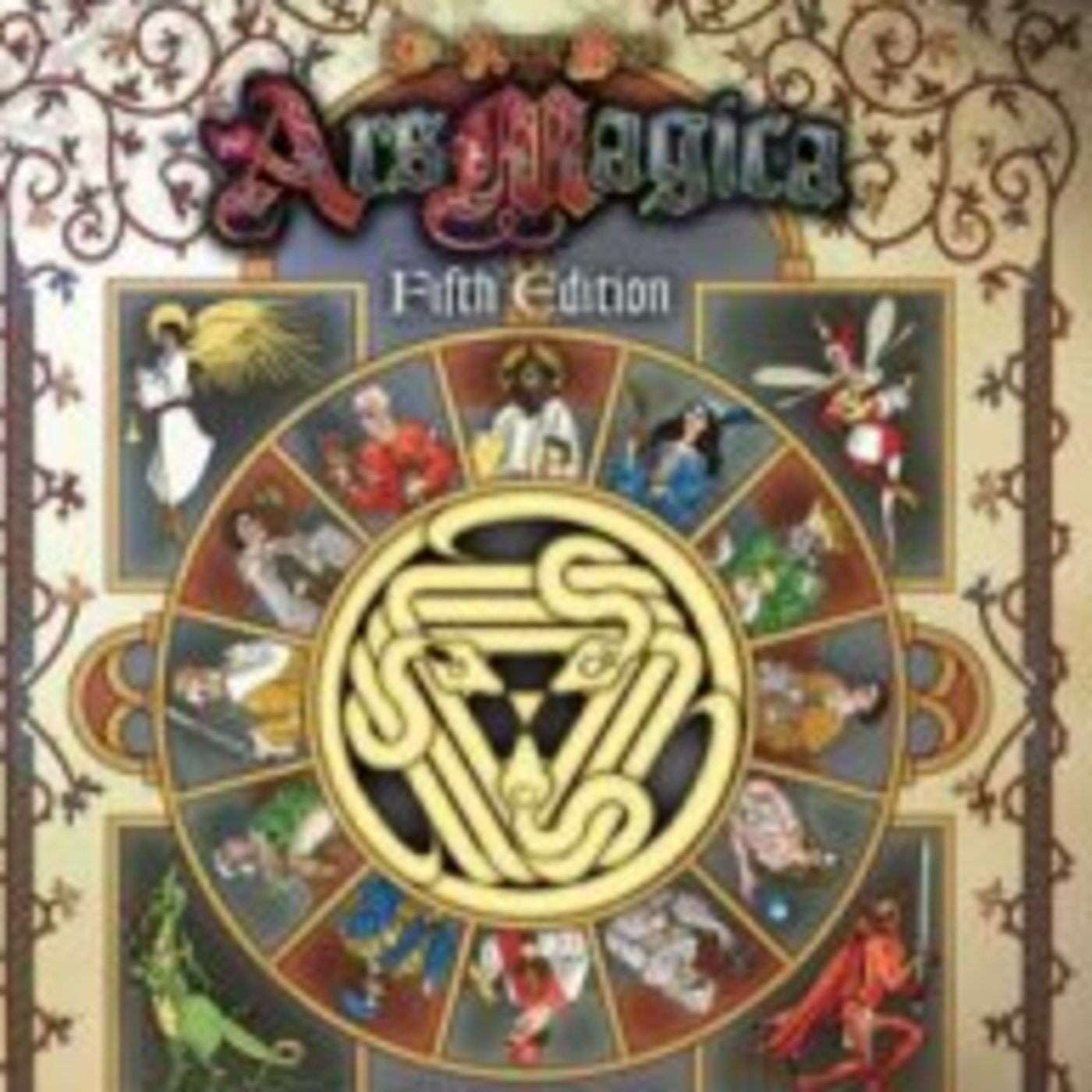 Arcane Connection: An Ars Magica Fan Podcast logo
