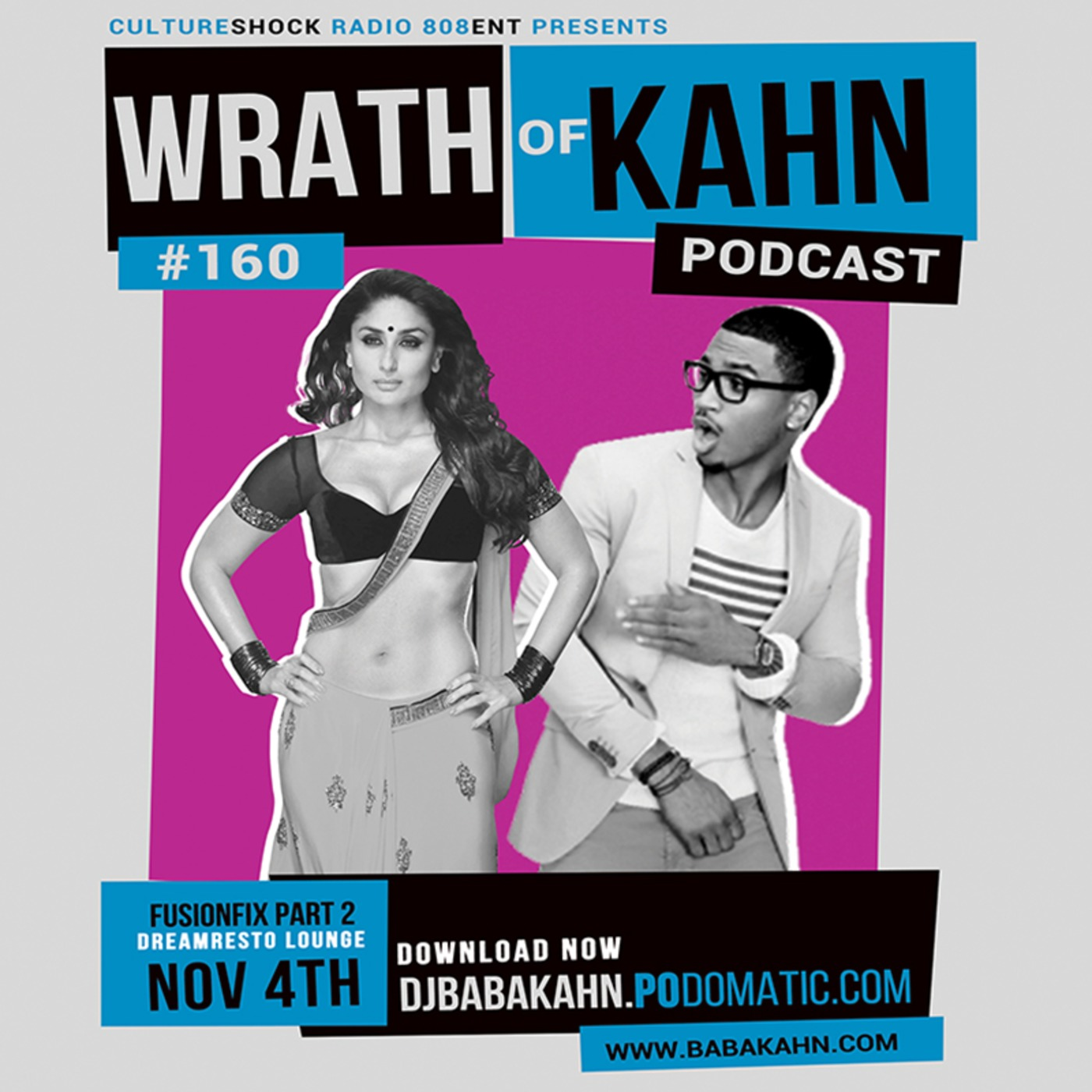 Wrath Of Kahn 160 DJ Baba Kahn DJ BABA KAHN podcast