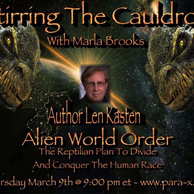 Author Len Kasten Alien World Order