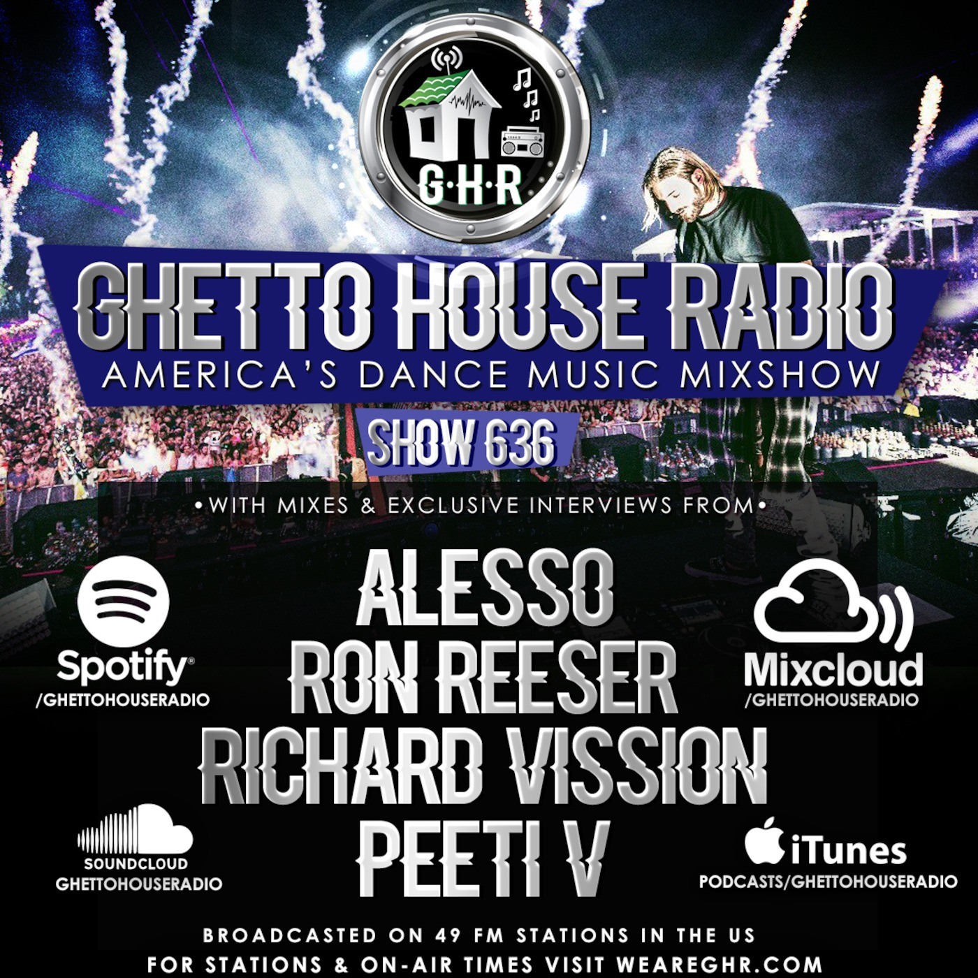 DJ Peeti-V - GHR - Show 636 - Hour 2 Mix 2 [April 2019