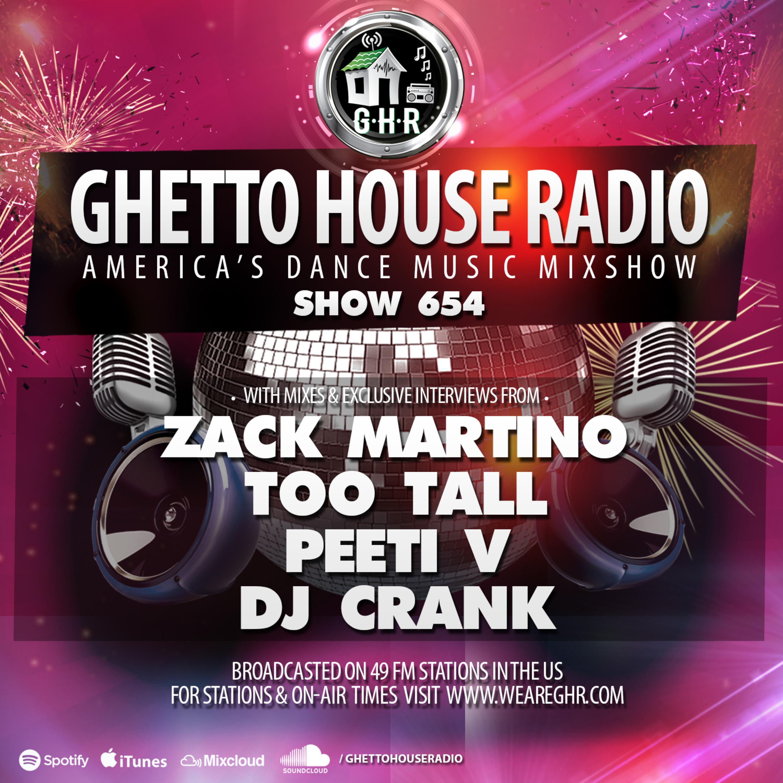 DJ Peeti-V - GHR - Show 654 - Hour 1 Mix 1 - Peeti V mp3 DJ