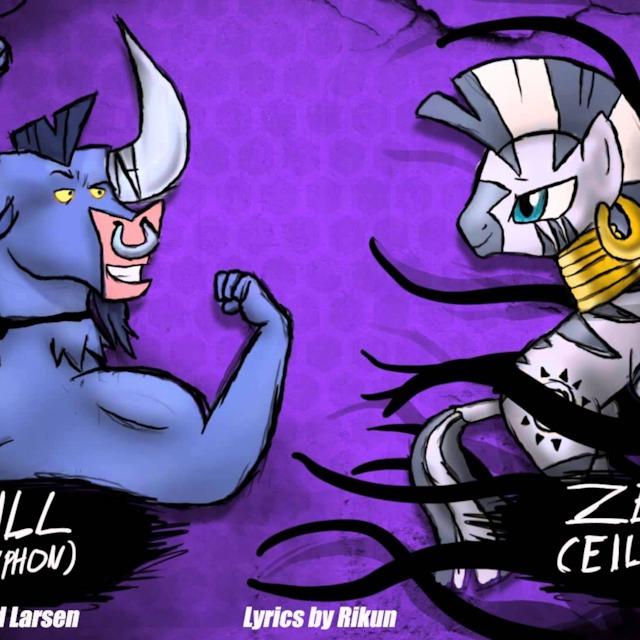 Epic Rap Battle Of Equestria Iron Will Vs Zecora
