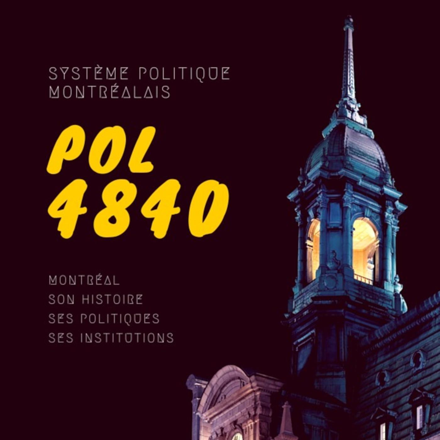 Système politique montréalais