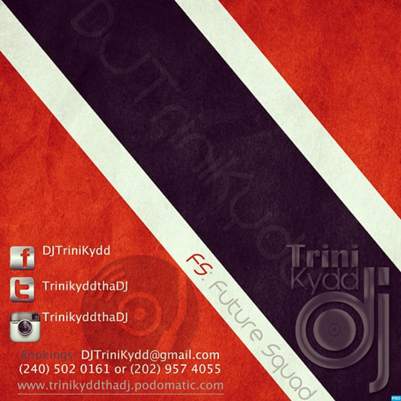 DJ TRINIKYDD's Podcast (Follow Me On Twitter @TriniKyddThaDj)