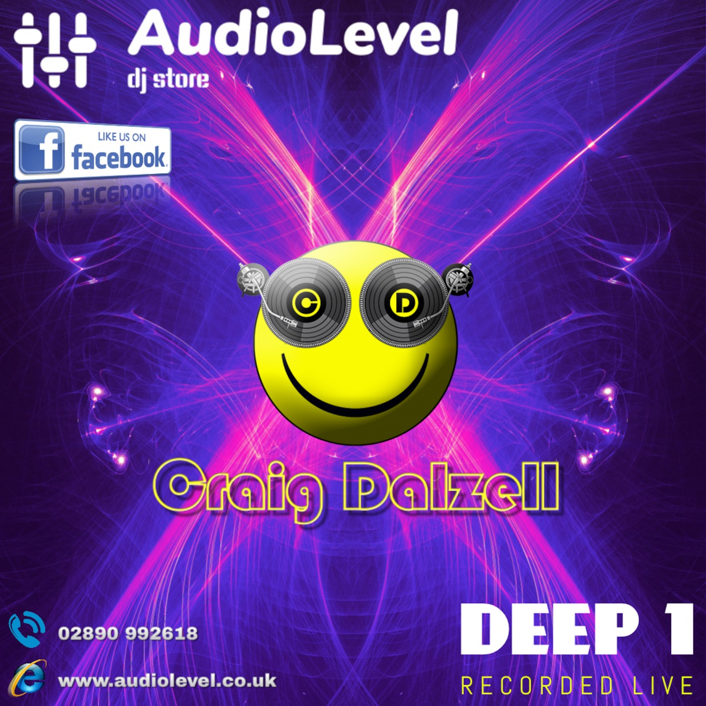 Deep 1 (Craig Dalzell Live @ AudioLevel 10/01/2019) Craig Dalzell