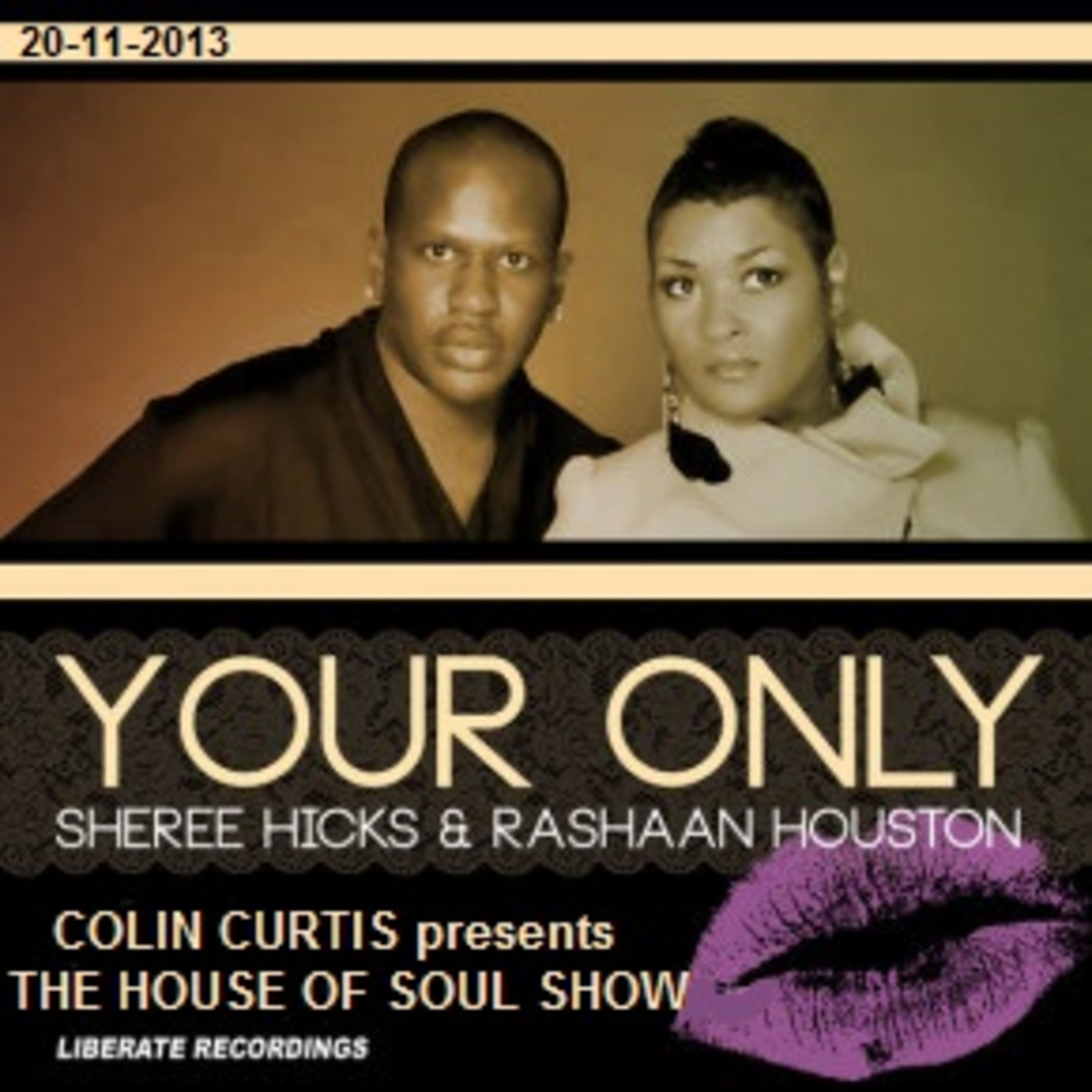 Colin Curtis presents THE HOUSE OF SOUL SHOW New Soulful Gospel Jazzy & Uplifting House 20th November 2013 MP3