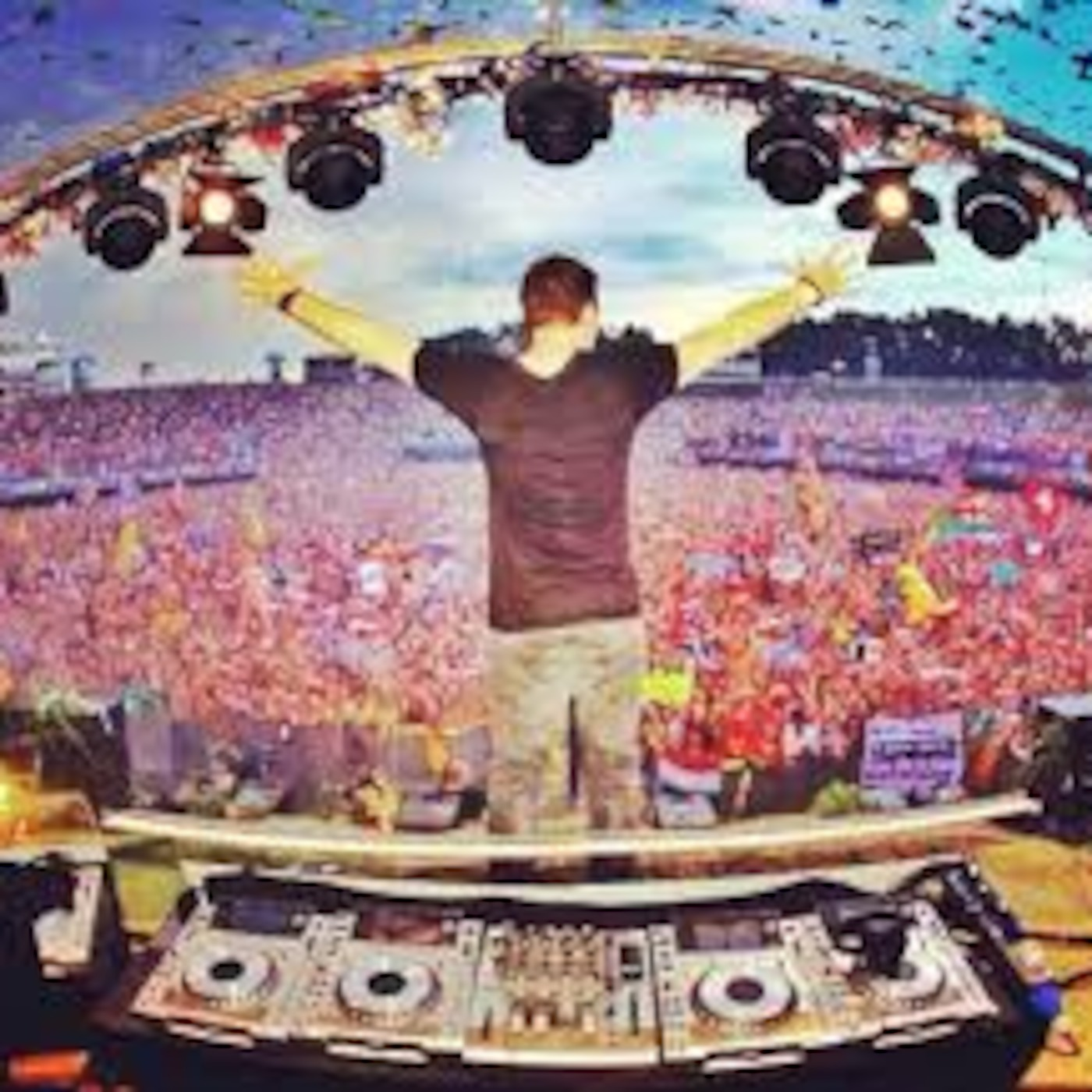 Hardwell Live@TomorrowLand 2013