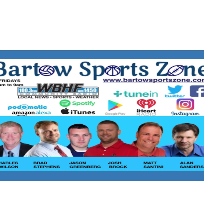 Episode 186: Bartow Sports Zone - Episode 186 - Nov. 27, 2020