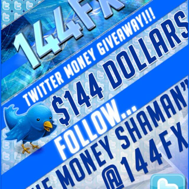 144FX Twitter Money Giveaway Episode 2