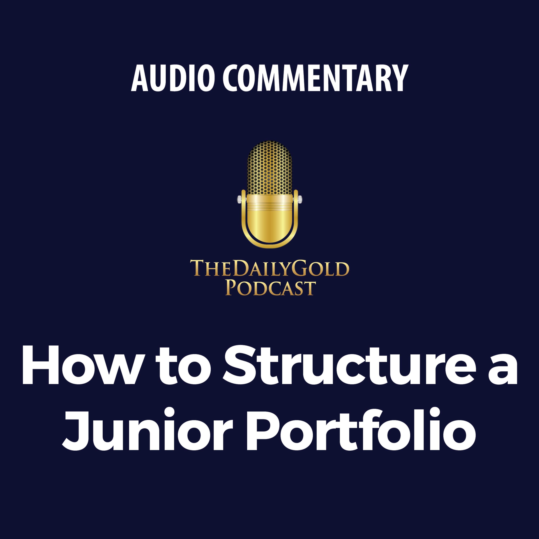 How to Structure a Junior Portfolio