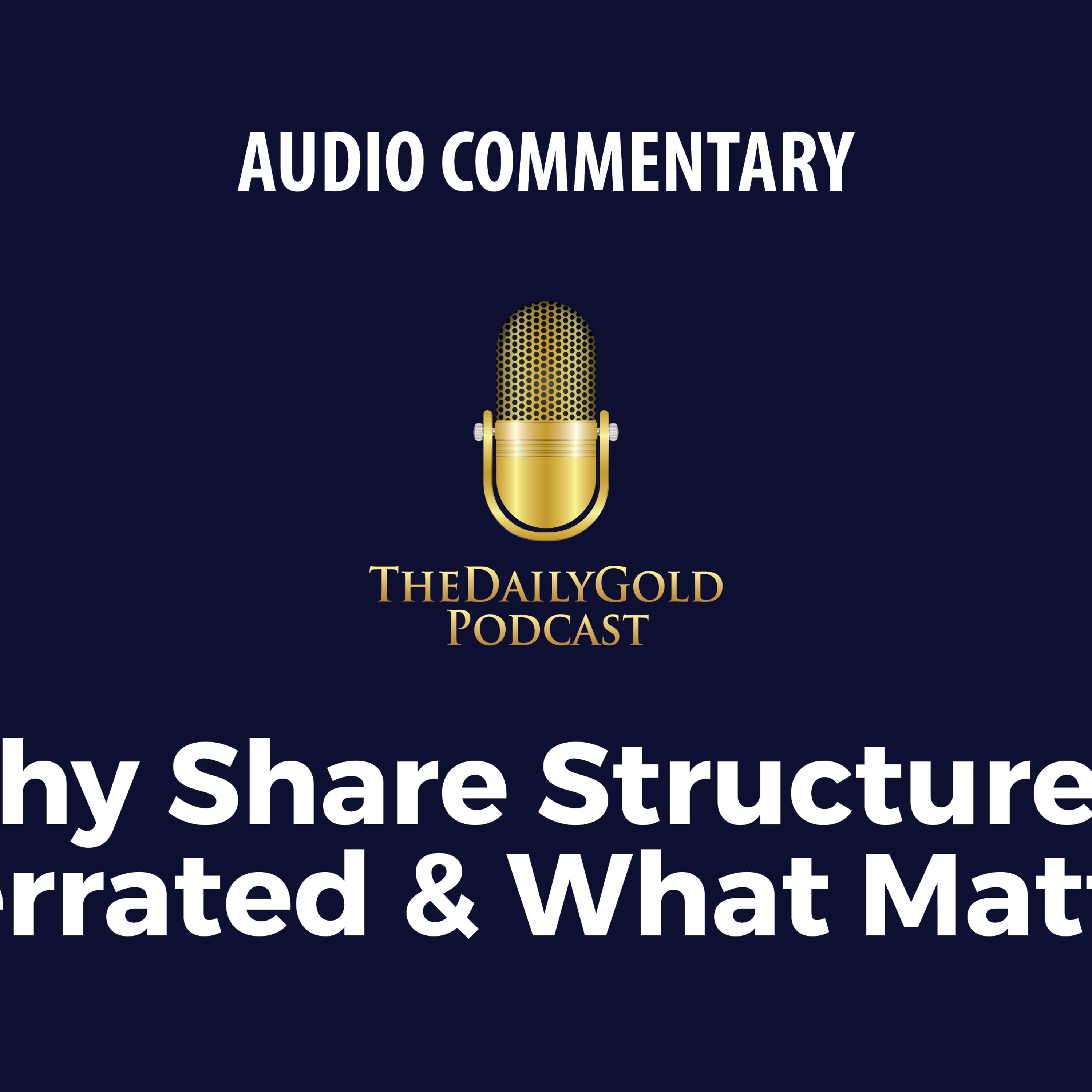 Share Structure is Overrated & What Matters
