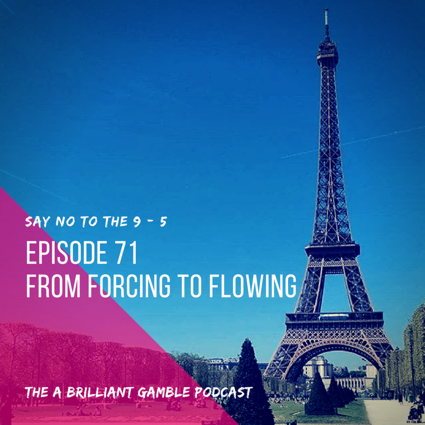 Episode 71: From Forcing to Flowing