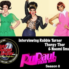 Interviewing Thorgy Thor, Naomi Smalls and Robbie Turner