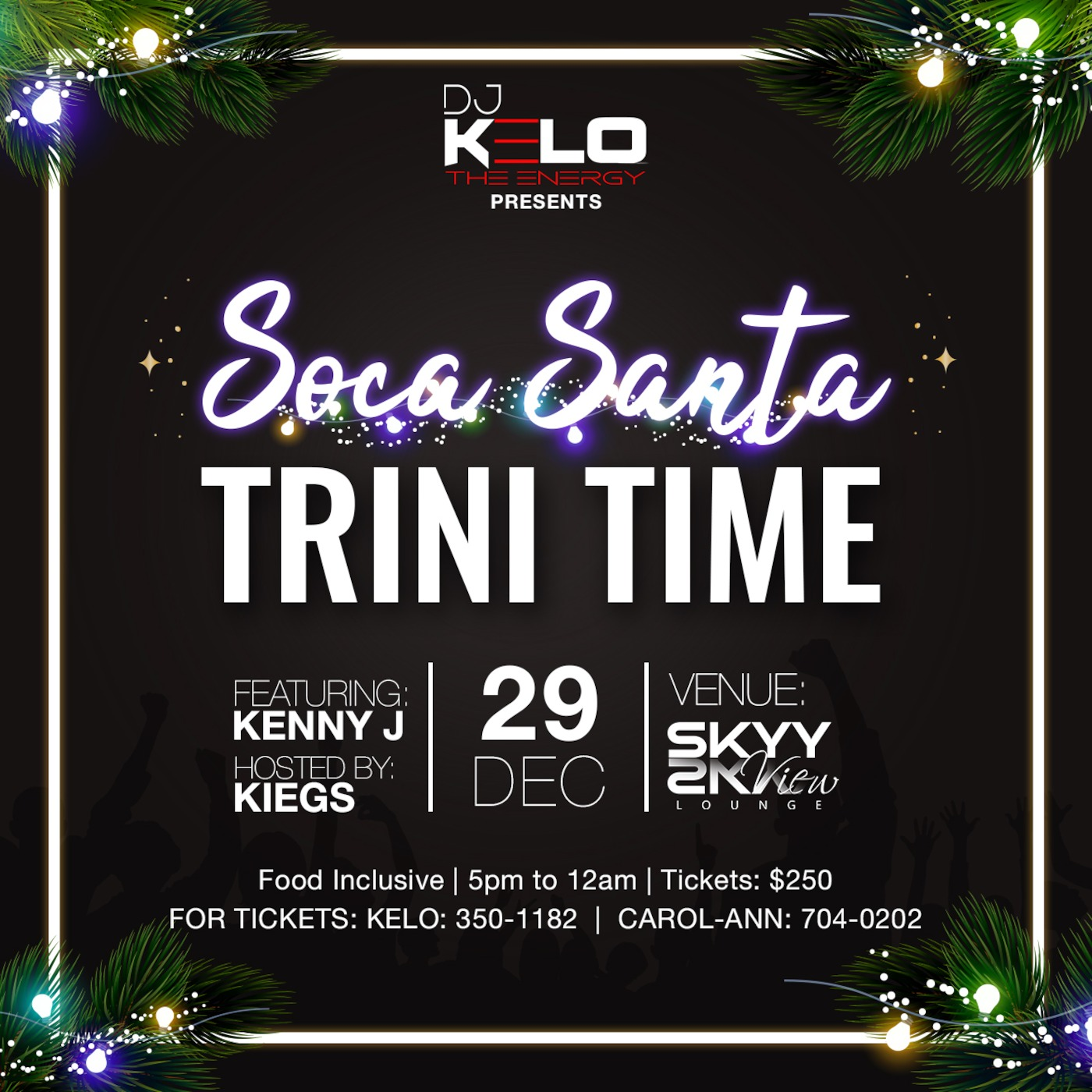 Soca Santa Trini Time Official Mixtape DJ Kelo The Energy