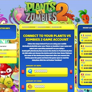 Plant vs zombie 2 Hack Tool Cheats for Android and iOS online