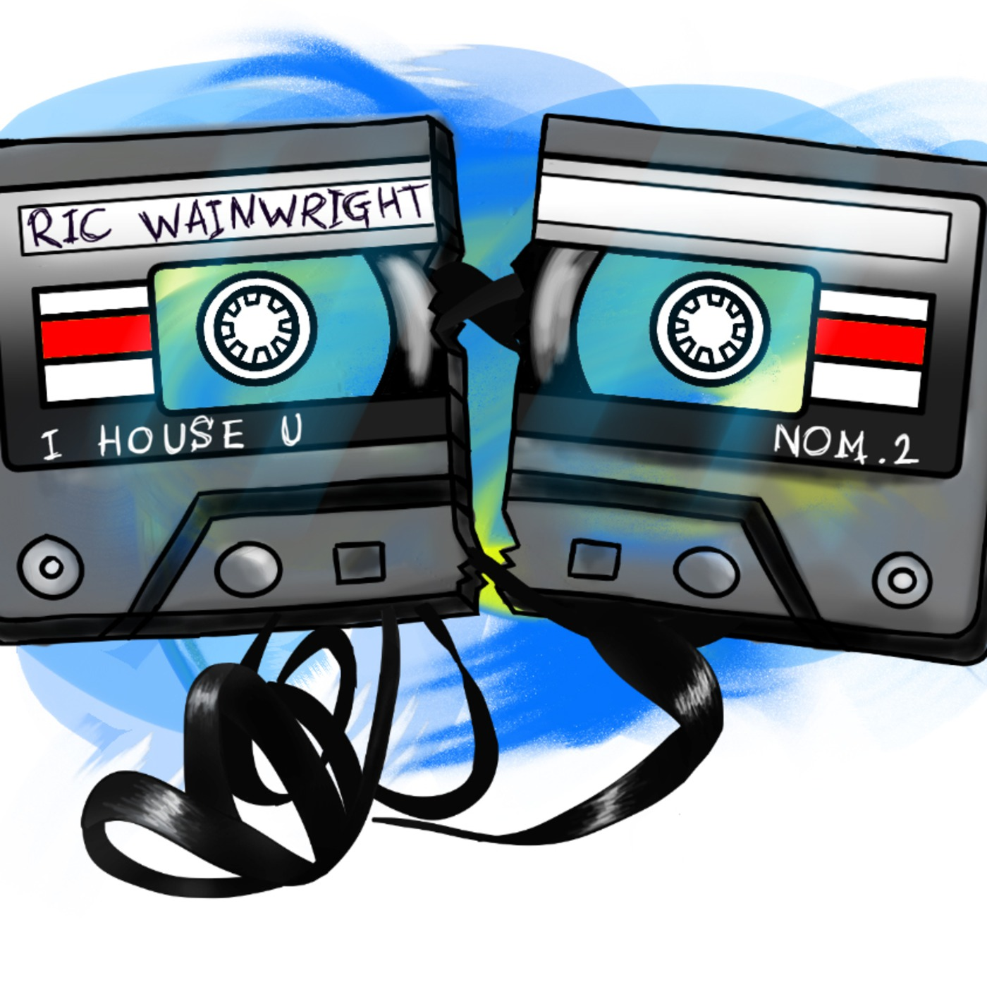 IHOUSEU podcast Mixed By Ric Wainwright