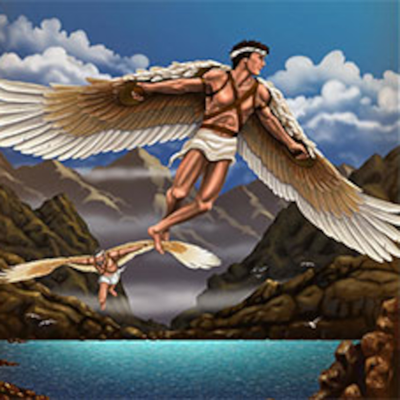 the flight of icarus and echo and narcissus why they are classical myths