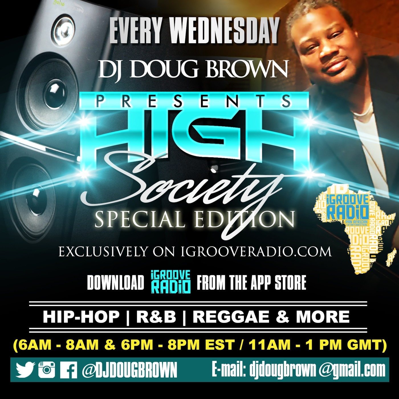 HIGH SOCIETY THE SPECIAL IGROOVERADIO EDITION DECEMBER 16