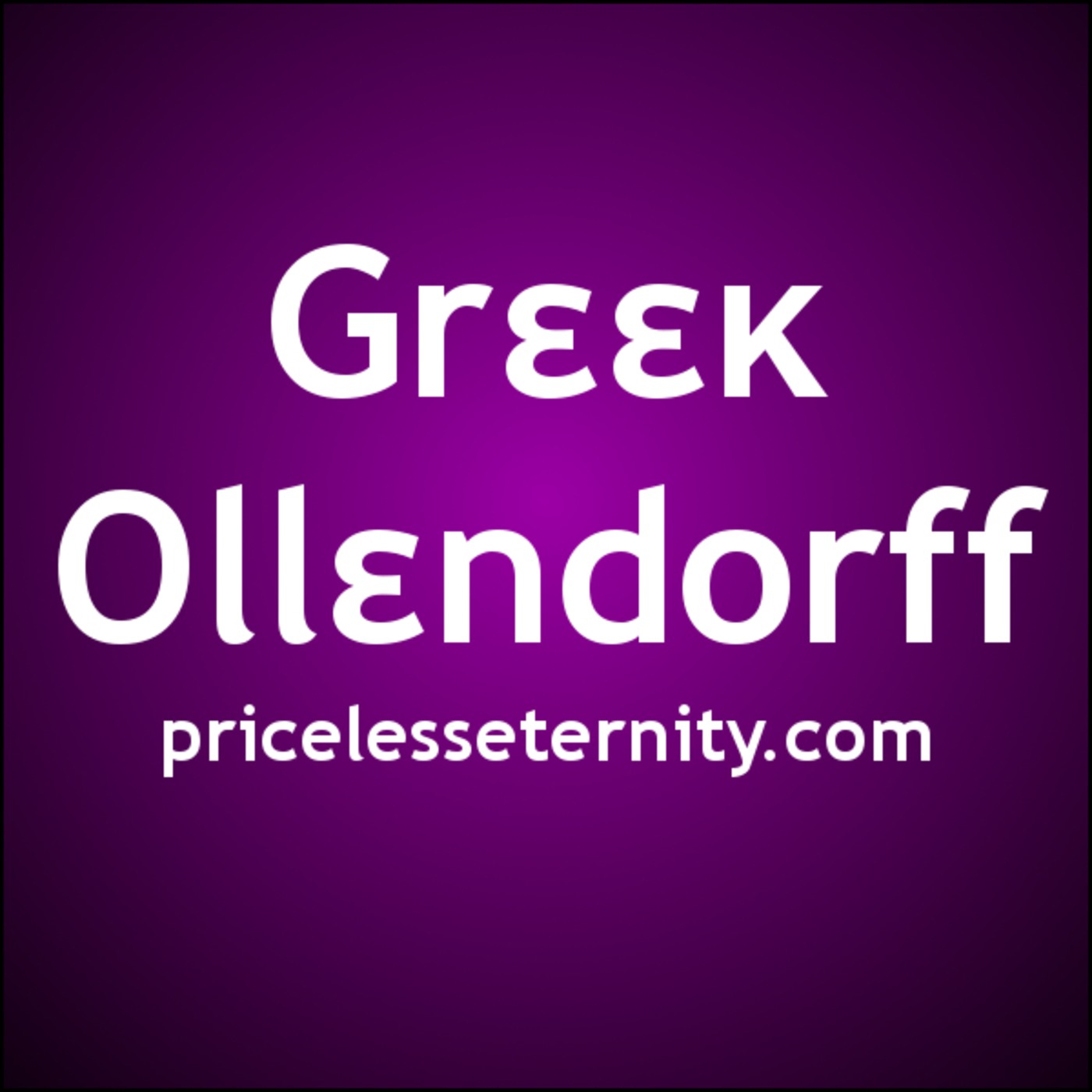 Greek Ollendorff Podcast