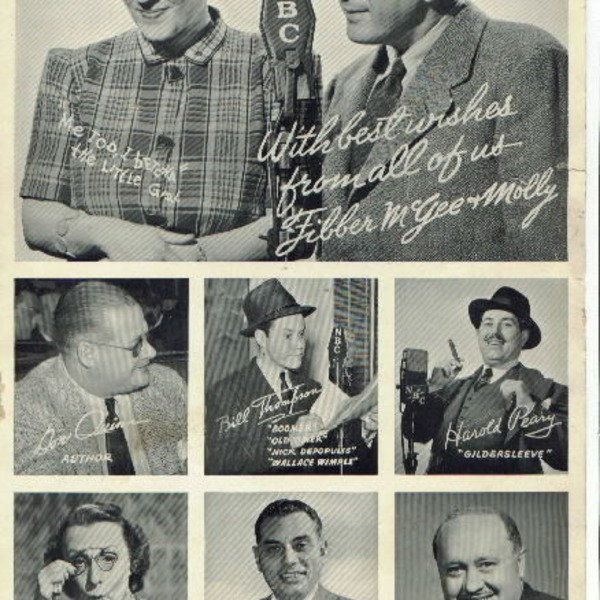 1943-01-26 Fibber McGee and Molly - Fibber The Author
