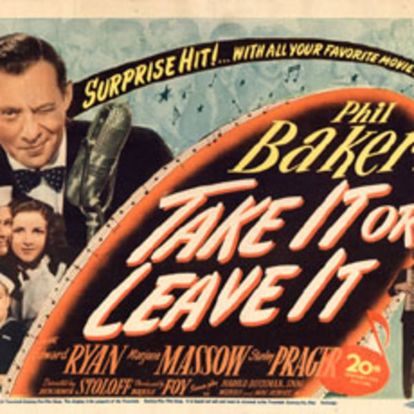 1943-01-10 Podcast - Jack Benny Show - Guest Phil Baker - The Sixty-Four Dollar Question (War Years)