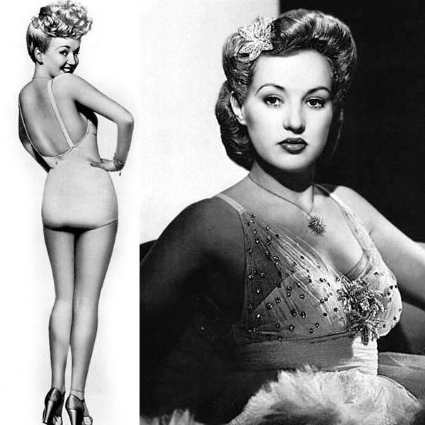 Judy Garland Theater - Mail Call 1943-01-09 (019) Groucho Marx, Betty Grable, Judy Garland