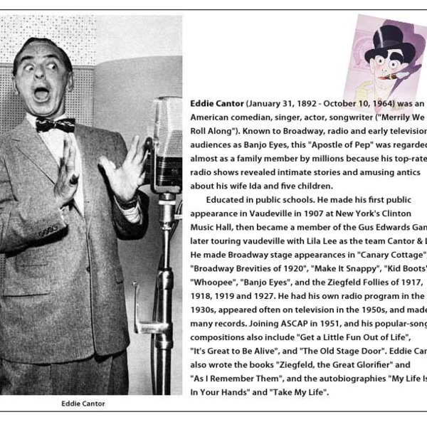 Big Show 1951-04-15 (024) Eddie Cantor and Jack Carson