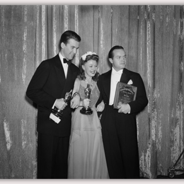 Jimmy Stewart Podcast - Academy Awards Ceremony 1946-04-07 Hosts Bob Hope and James Stewart -  18th Annual 1945